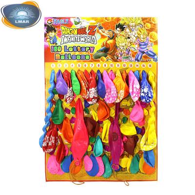 """(М)Цветные шарики """"Ассорти""""на блистере"""