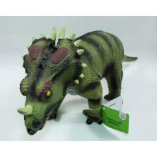 """(М)Динозавр """"стиракозавр"""" большой ( в пакете)"""