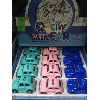 """(М) Машинка """"Music Car"""" (12 шт. в уп.)"""