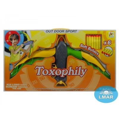 "(М) Арбалет ""Toxophily"" (в кор., с пульками)"