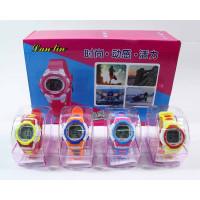 (М)Электронные часы мал. цветные (по 10 шт. в уп.) YW825-47 /ящ 240