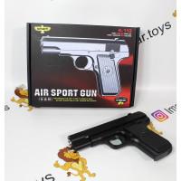 (М)Металлический игрушечный пистолет