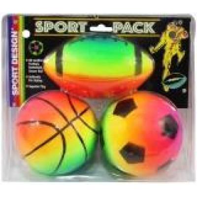 (М)Набор мячей на блистере