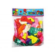 (М)Шарики цветные  по 10 шт в упаковке