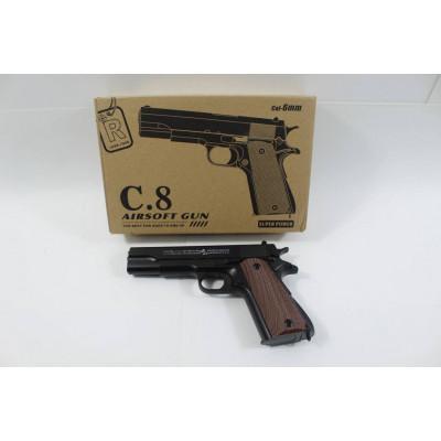 (2M)Пистолет металлический С8
