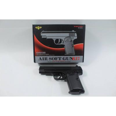 (2M)Пистолет металлический K17