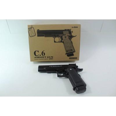 (2M) Пистолет металлический С6
