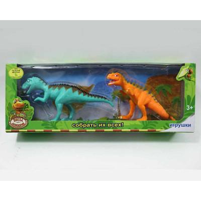 (М) Динозавры в упаковке (2 шт.)