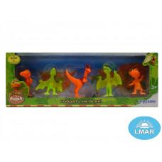 (М) Динозавры в коробке (5 шт.)