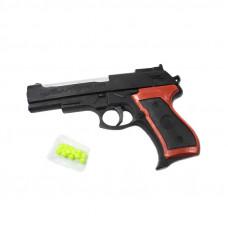(М) Пистолет в пакете с пульками