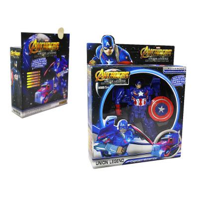 "Герои""Капитан Америка""в коробке"