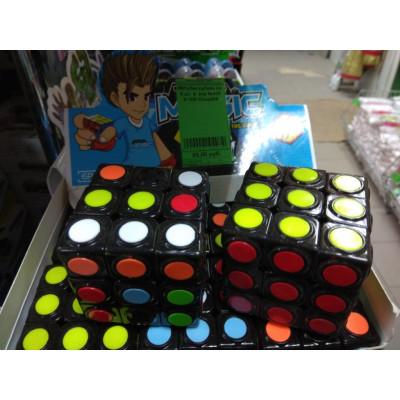 (М)Кубик рубика 3*3 (6 шт. в уп.)