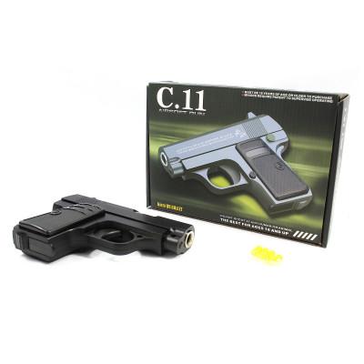 (М)Пистолет металл в коробке