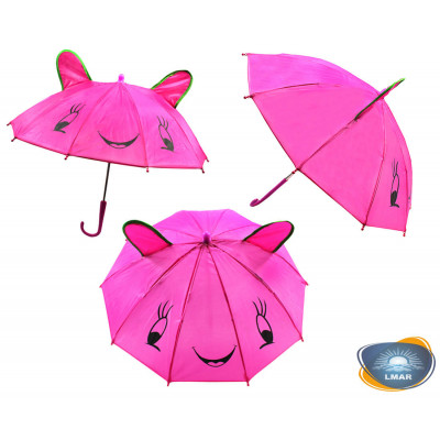 (М)Зонтики - мини c ушками