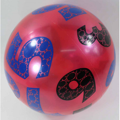 "(M)Мяч резиновый ""ЦИФРА"""
