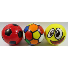 (М) Мяч мягкий в ассортименте (цена за упаковку из 4 шт.)