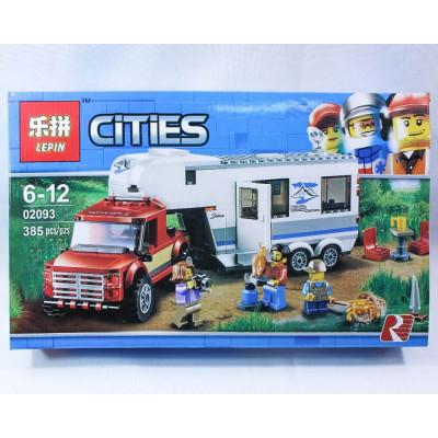 """Лего""""CITIES"""" 385 деталей"""