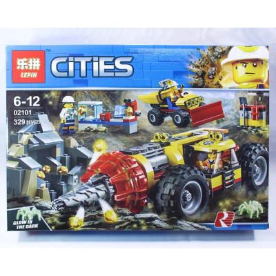 """Лего""""CITIES"""" 329 деталей"""