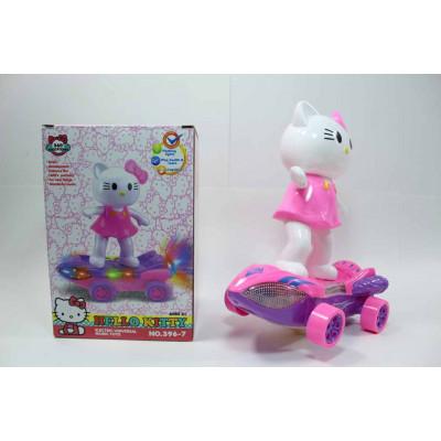 Hello Kitty на скейте музыкальная