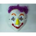 (2М) Маска железный человек и клоун