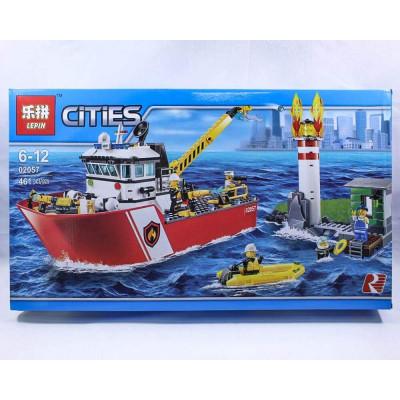 """Лего""""CITIES""""461 деталей"""