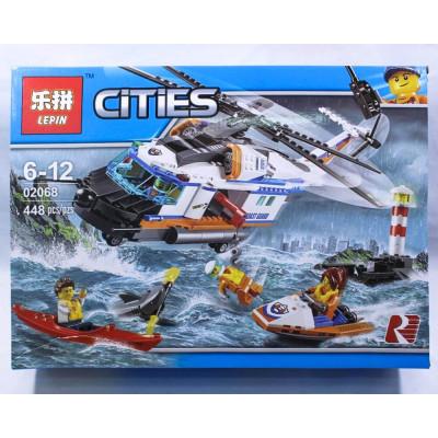"""Лего""""CITIES"""" 448 деталей"""