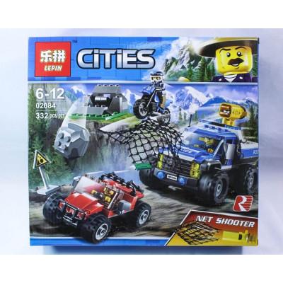 """Лего""""CITIES"""" 332 деталей"""