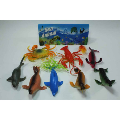 Набор морских животных №HJ27, 121-9 /ящ 120
