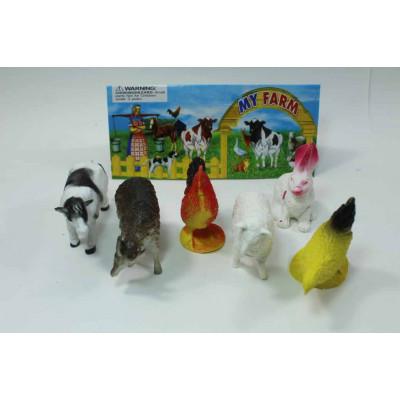 Набор из 6 животных