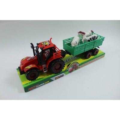 (2М)Трактор с домашними животными