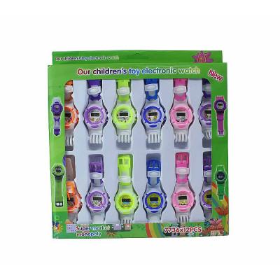 (М)Электронные часы в упаковке
