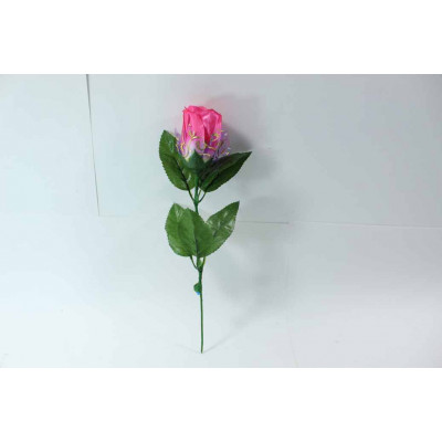 (М) Роза светящаяся- розовая