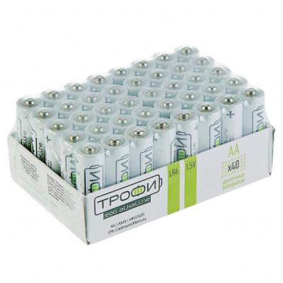"""(M)Элемент питания """"Трофи"""" LR6-40 bulk ECO"""