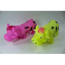 (2М)Корова пищалка цвет. FI-55 /ящ 160