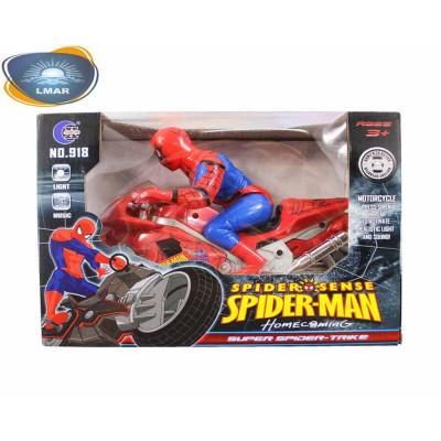 Человек-паук на мотоцикле (муз.в кор.)