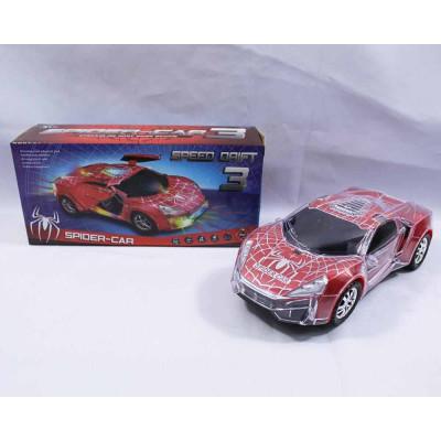 "Машинки ""Spider-car"" муз в коробке"