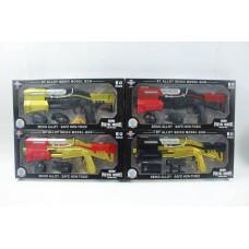 (2M) Оружие с метал. элементами в упаковке (бол.)