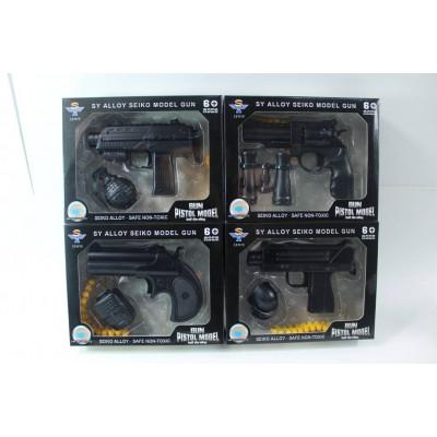 (2M) Оружие с метал. элементами в упаковке (мал.)