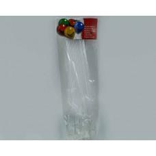 Упаковка палочек для шариков 12 шт.