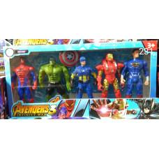 """Набор героев""""Avengers""""в коробке"""