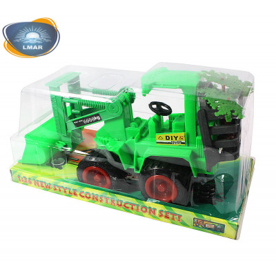 (М)Трактор в коробке