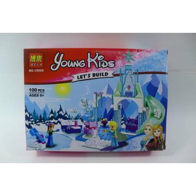 """Лего """"Young Kids Lets build""""""""Холодное сердце"""" (100 д.)"""