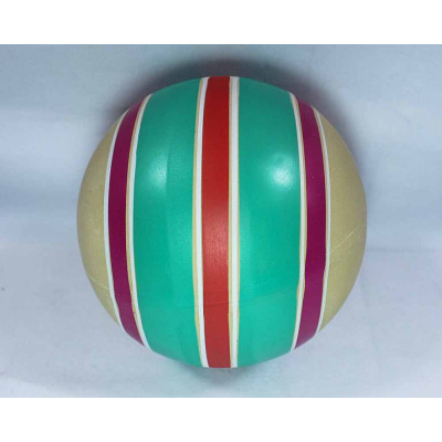 (М)Мяч рез ассорти 125мм