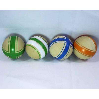 (М)Мяч рез ассорти 75мм