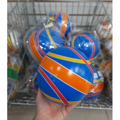 (М)Мяч рез ассорти  200мм