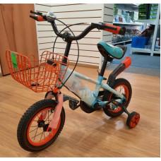 (М) Велосипед 4-ёх колёсный с корзиной